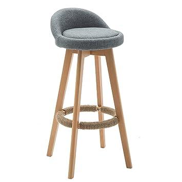 Amazon Com Liu Ruoxi 360 Rotating Bar Chair Furniture Round Seat