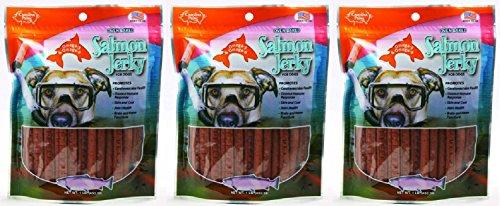 (3 Pack) Carolina Prime Salmon Jerky - Stay Fresh Pouch 1 lb. ()