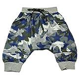 AIMBAR Kids Boys' Summer Camouflage Breathable Mesh Elastics Waist Harem Shorts Age 4-13 Years (10-11 Years)