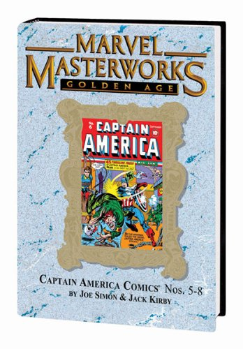 Marvel Masterworks GOLDEN AGE CAPTAIN AMERICA HC VOL 02 VAR ED 99