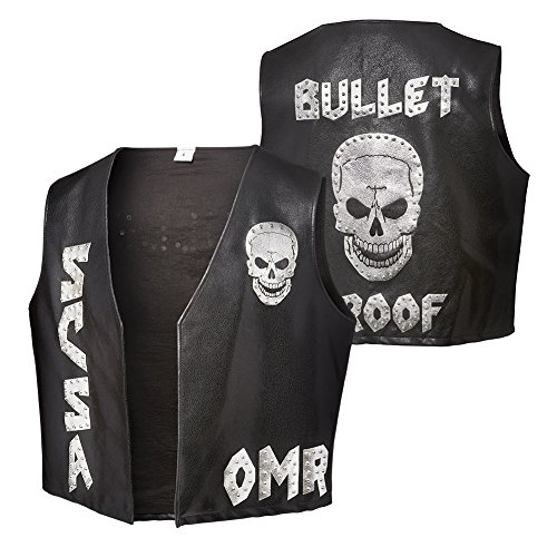 WWE Stone Cold Steve Austin One More Round Bullet Proof WWE Authentic Mens Replica Vest-S
