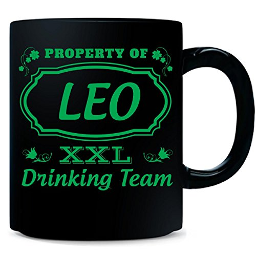 property-of-leo-st-patrick-day-beer-drinking-team-mug