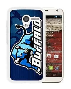 NCAA Buffalo Bulls 2 White Customize Motorola Moto X Phone Cover Case