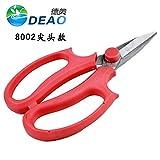 Godagoda Floral Cut Squid Steel Garden Scissors for Pruning Shear Trainer Flower Shop