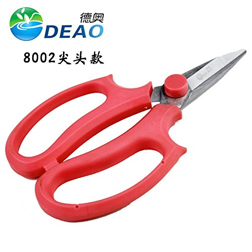 Godagoda Floral Cut Squid Steel Garden Scissors for Pruning Shear Trainer Flower Shop by Godagoda