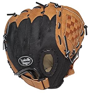 Louisville Slugger Multi-Position Pattern Youth Ball Glove (9.5-Inch, Left-Handed Throw)