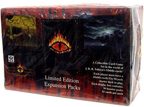 (Middle Earth Iron Crown Card Game MECCG The Dragons Booster Box 36 Packs)