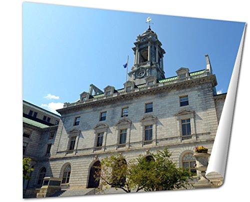 Ashley Giclee, Portland City Hall Maine Usa, 24x30 (Portland City Hall)