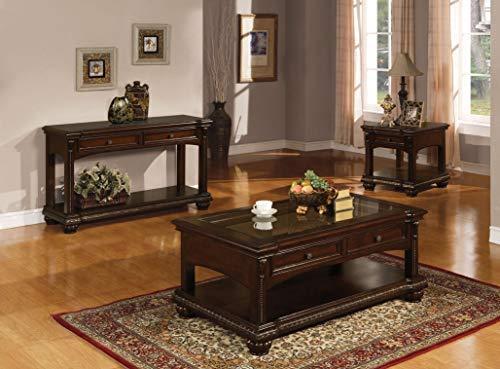 ACME Anondale Sofa Table - - Cherry