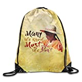 Many We Know Women Hat Custom School Bag For Sports