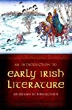 img - for Introduction to Early Irish Literature by Muireann Ni Bhrolchain (2009-09-18) book / textbook / text book