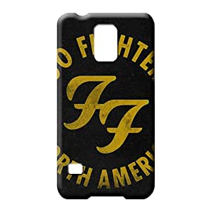 samsung galaxy s5 mobile phone carrying cases Covers Durability Fashionable Design foo fighters
