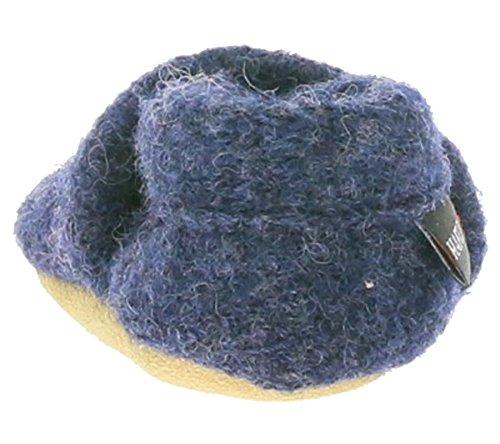 Haflinger 653056-72 - Zapatillas de estar por casa para niño Azul