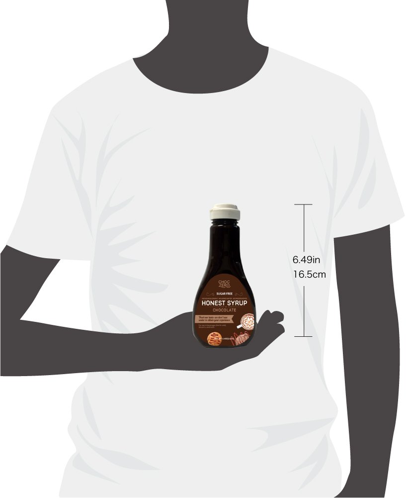 ChocZero's Chocolate and Vanilla Syrup. Sugar Free, Low Net Carb, No Preservatives. Gluten Free. No Sugar Alcohols. Dessert toppings and baking syrups for keto (2 bottles) by ChocZero (Image #4)