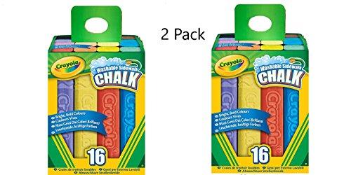 Crayola Sidewalk Chalk 16 Ct. Pack of 2 for $<!--$13.43-->