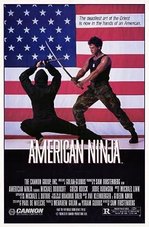 Póster de película Ninja americano 11 x 17 en - 28 cm x 44 ...