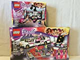 Lego Friends Pop Star Limo Set & Lego Friends Recording Sudio