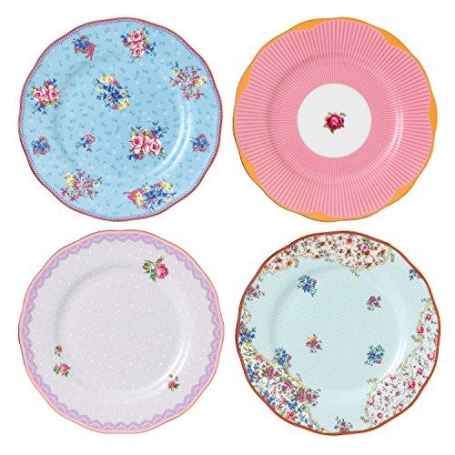 Royal Albert Pacific Mixed Patterns Bowls (Set of 4), 6.2