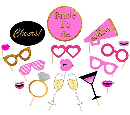 graphic about Photo Props Printable called : Printable Bachelorette Photograph Booth Props, Do it yourself