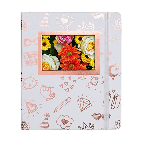 HP Sprocket Gold and White Photo Album (2HS31A) by HP