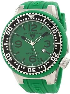 Swiss Legend Men's 21818P-08 Neptune Green Dial Green Silicone Watch