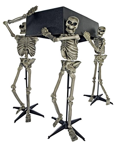 Skeleton Pall Bearers with Coffin Decoration