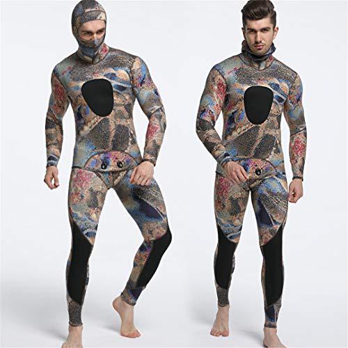 Diving Suit Neoprene Men Spearfishing Wetsuit Snorkel Swimsuit Surf Wetsuit one8 L