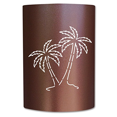 Bronze Palm Tree (slip on sconce PT-CC-007 Palm Tree Copper Canyon Slip On Sconce)