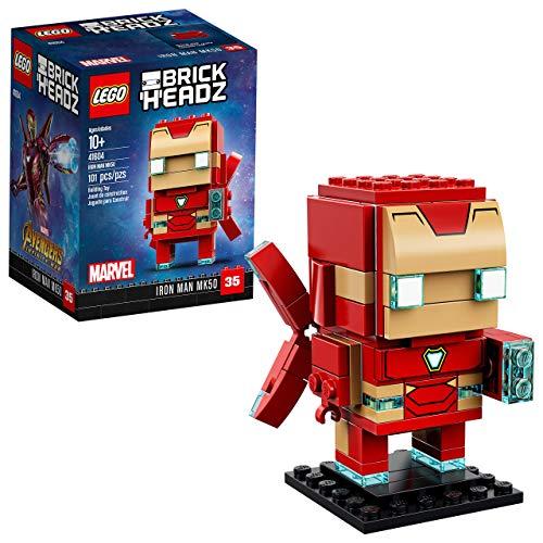 with LEGO BrickHeadz design
