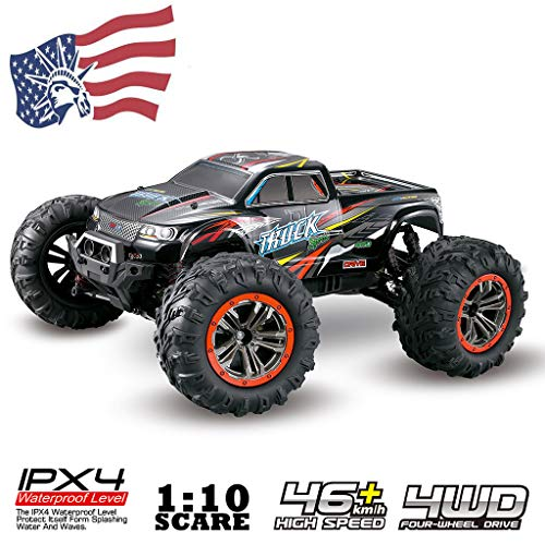 2.4 Ghz Dual Handset - ohardword OHraDWord Cars Monster Truck 4WD Vehicle 2.4 GHz Dual Motors Rechargeable Off Road Remote Control Truck, Wireless Winch Remote Control Kit for Truck Jeep Switch Handset.