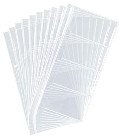 Durable 238719 Visitenkartenhüllen Für 2383 2385 Beutel Mit 10 Stück Transparent