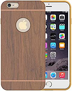 Slicoo Artistic Wood Grain Dual layer case for Iphone 6 and 6S Plus