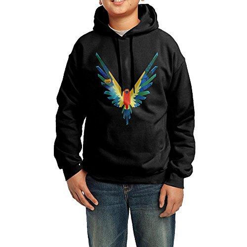 Men's Schoolboy Maverick, Custom Fashion Hoodies, Logan Paul, Parrot Logo Youth Sweater