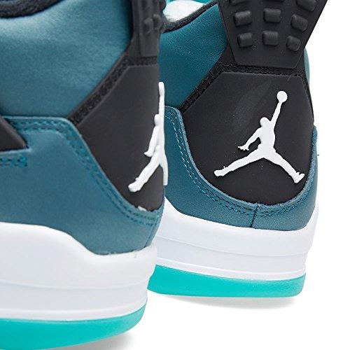 Nike Air Jordan 4 Retro 30th, Zapatillas de Deporte Exterior para Hombre teal/white-black