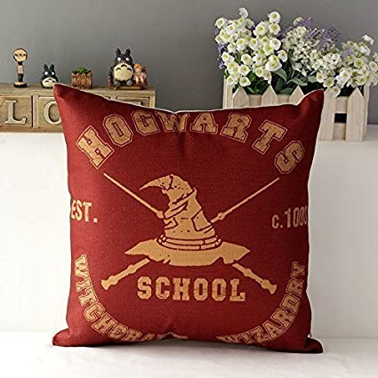 Kenneth case Harry Potter Cotton Cushion Cover Sofa ...