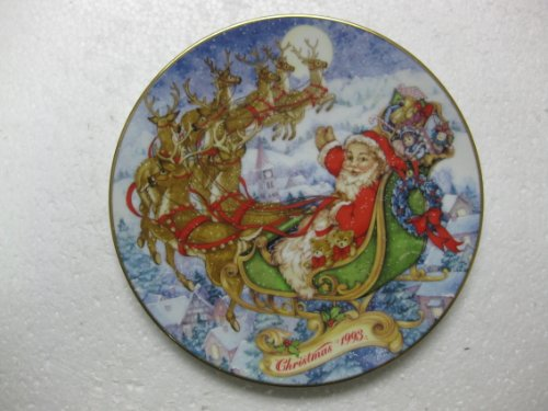 Avon Christmas Plate 1993 Special Christ - 1993 Danbury Mint Shopping Results