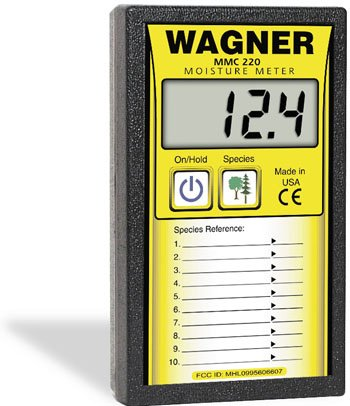Wagner MMC220 Extended Range Wood Moisture Meter Lignomat Moisture Meter