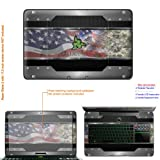Decalrus Matte Protective Decal Skin Sticker for Razer Blade 2 RZ09 with 17.3in Screen (IMPORTANT: to get correct skin for your laptop Must view IDENTIFY image) case cover Matte-Razerblade2-6