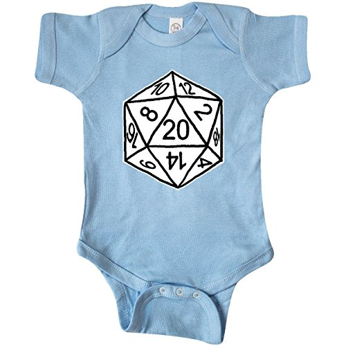 Dragon Infant Creeper (inktastic 20 Sided White Infant Creeper 6 Months Baby Blue - Gus Fink Studios)