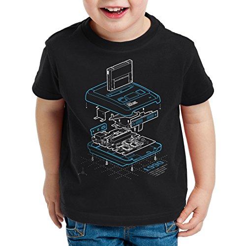 cl Anno Camiseta Snes ni os Videojuego Hormiga 1990 para E87W4pqqz