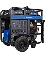 Westinghouse Outdoor Power Equipment WGen5300v Portable Generator with 120/240 Volt Selector 5300 Rated 6600 Peak Watts Gas Powered, CARB Compliant, RV and Transfer Switch Ready