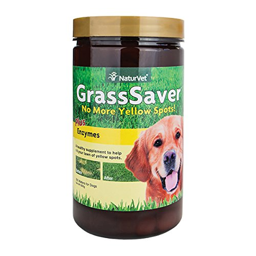 - NaturVet GrassSaver® Chewable Wafers -- 300 Chewable Wafers