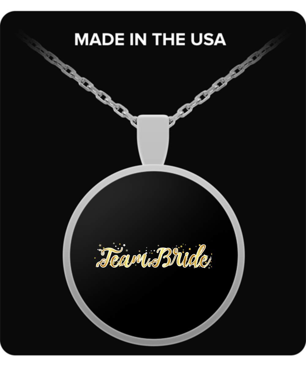 De Look Team Bride Bachelorette Party for Women Necklace