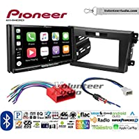Volunteer Audio Pioneer AVH-W4400NEX Double Din Radio Install Kit with Wireless Apple CarPlay, Android Auto, Bluetooth Fits 2010-2012 Mazda CX-7