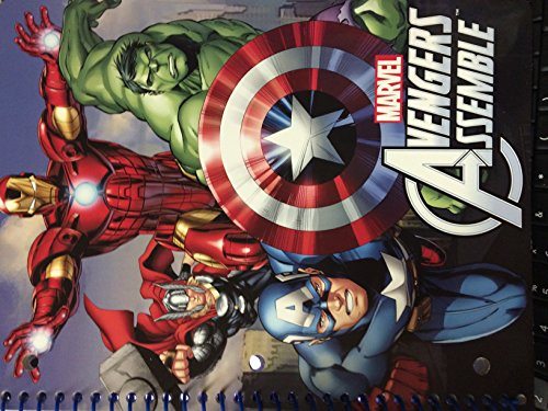 Marvel Avengers 80 Sheet Wide Rule Notebook, Designs Will Vary