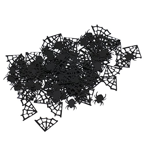 MonkeyJack Spider Webs Spider Table Scatter Halloween Party Confetti Fun Accessories -