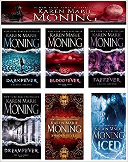 A Complete 6-book Karen Marie Moning Fever Series Collection [Darkfever, Bloodfever, Faefever, Dreamfever, Shadowfever, and Iced]