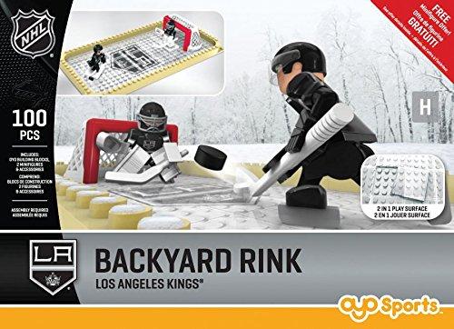 NHL Los Angeles Kings Backyard Rink Set, Small, Black