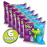 Kandoo 100 Count 6 Pack, Sensitive, Refills