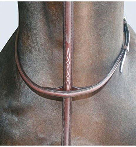 Val du Bois Raised Standing Martingale Australian Nut Full ()